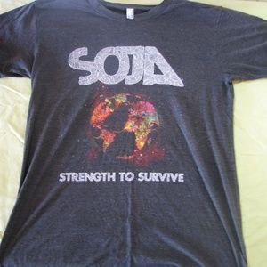 SOJA - Strength to Survive T-Shirt, M